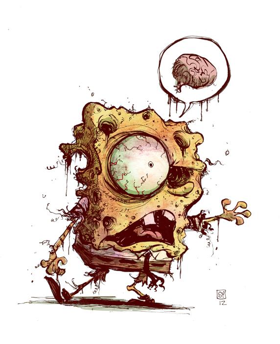 Spongebob Zombie Geektyrant