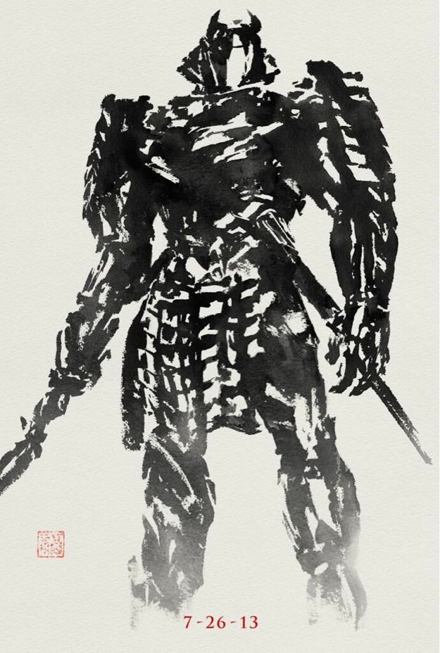 THE WOLVERINE - Silver Samurai Stylized Poster Art ...  THE WOLVERINE -...