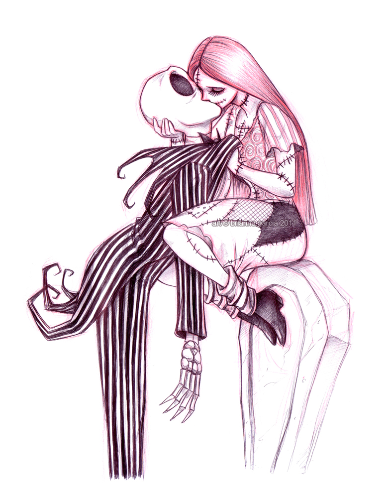 Jack skellington and sally sexy