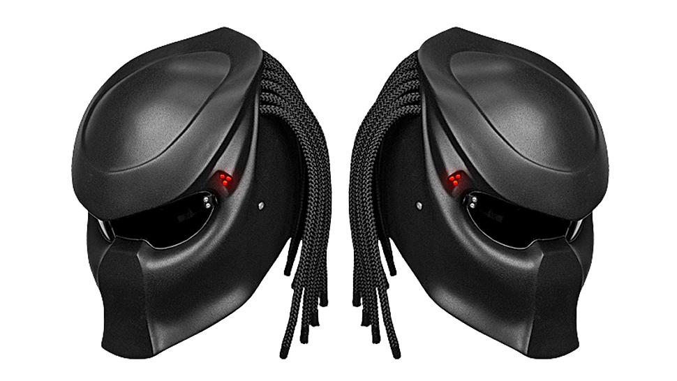 introducing the predator 2 motorcycle helmet geektyrant. Black Bedroom Furniture Sets. Home Design Ideas