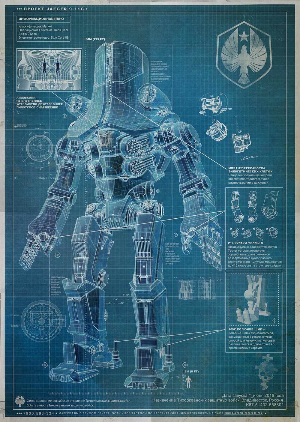 Pacific rim new blueprints for another 3 robots geektyrant three new blueprints have been released for the giant robots that well see in guillermo del toros pacific rim the picture above shows off a russian malvernweather Images