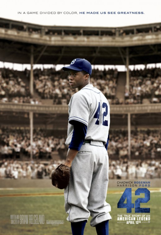 New Poster for the Jackie Robinson Film 42 — GeekTyrant