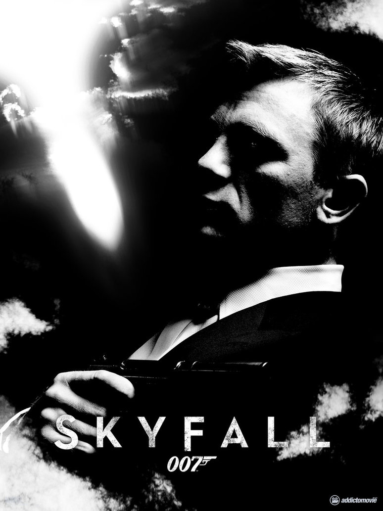 A cool fan made poster for the upcoming james bond film skyfall has arrived sam mendes directing the newest installment which is planned as a large scale