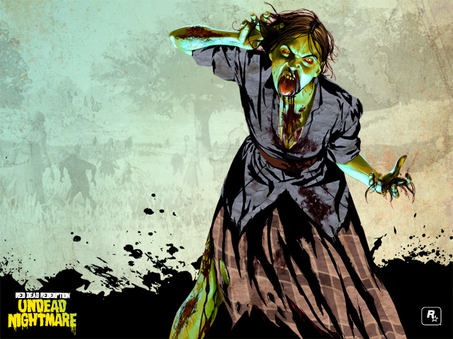 cool wallpapers for red dead redemption undead nightmare