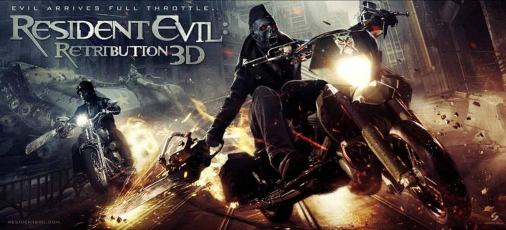 Resident Evil Retribution Ten New Posters Banners And Promo