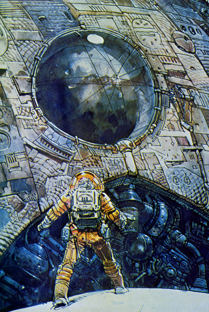 Geek Art 1979 Concept Art For Ridley Scotts Alien Geektyrant