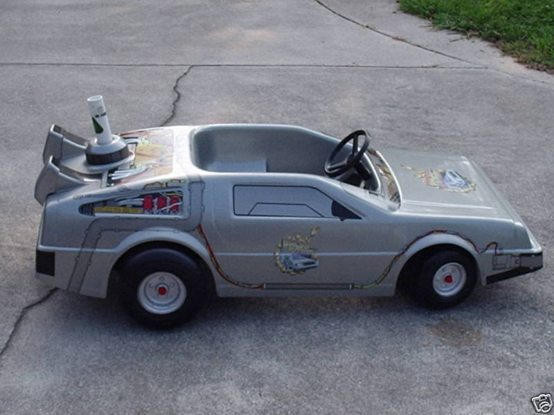 Remember This Back To The Future Ii Kids Delorean