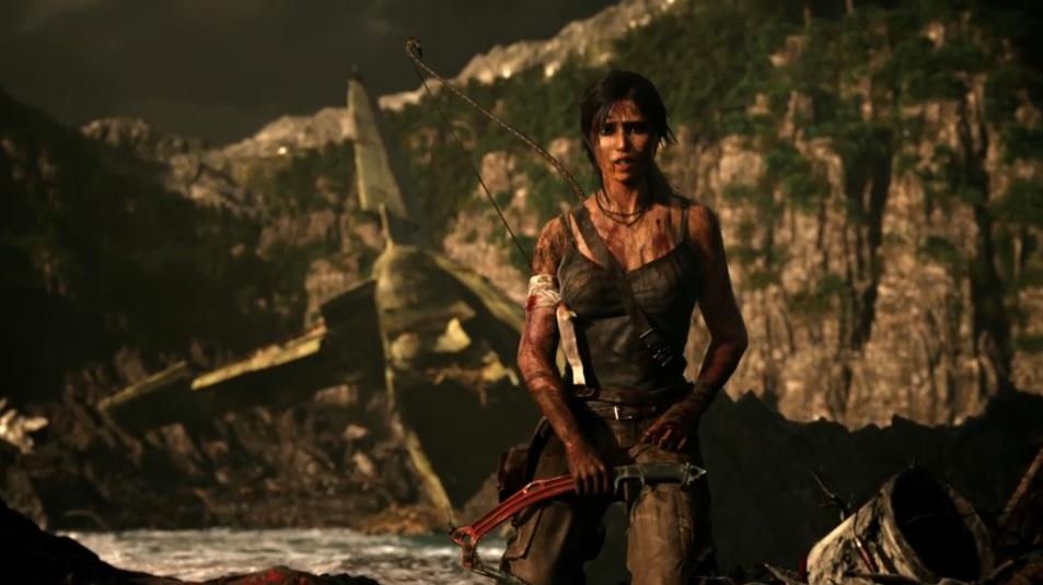 E3 2011 Tomb Raider Gameplay Demo Trailer Geektyrant