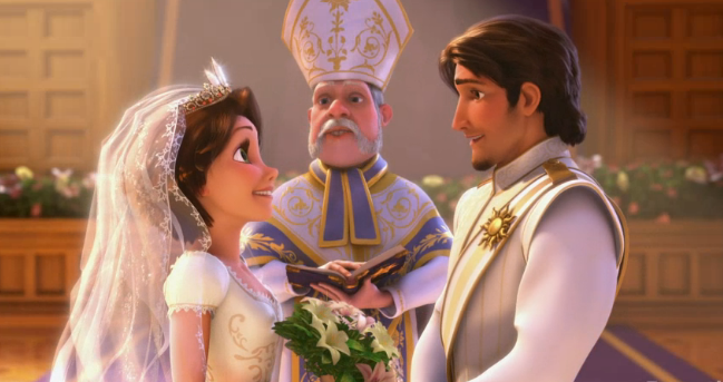 Frozen/Tangled Fan Theory someone posted on Facebook ...