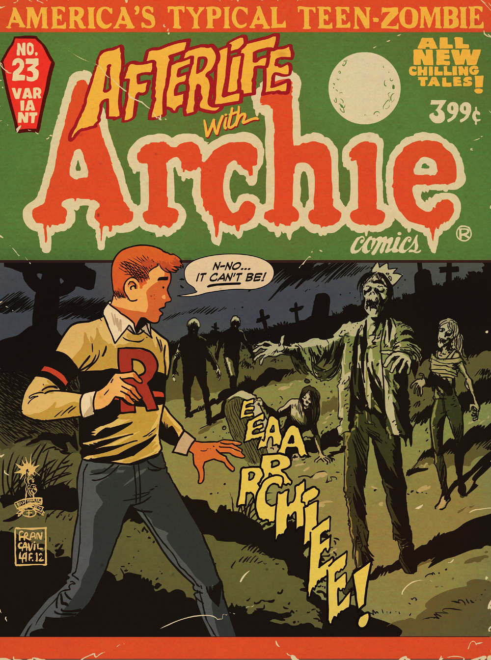 archie comics getting feature film adaptation with zombies