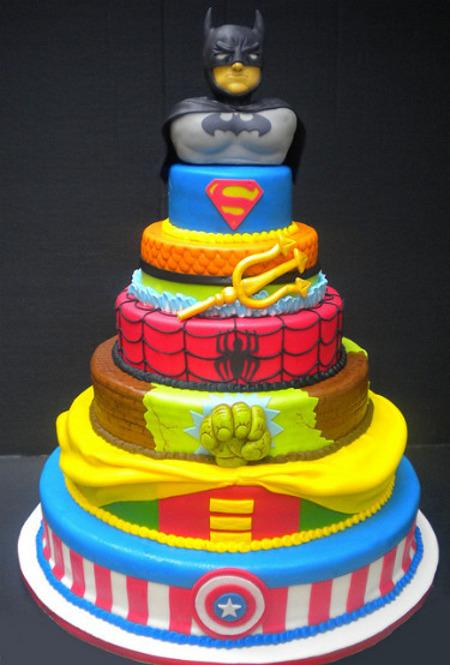 Superhero Cake - CakeCentral.com  |Superhero Cakes