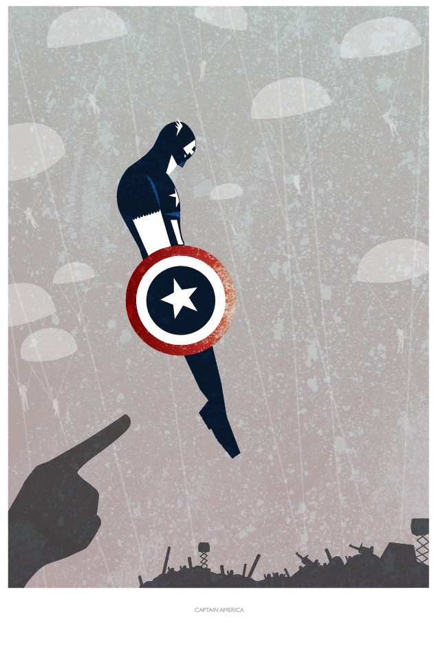 Minimalist Book Cover Prints : Awesome minimalist comic book poster art — geektyrant
