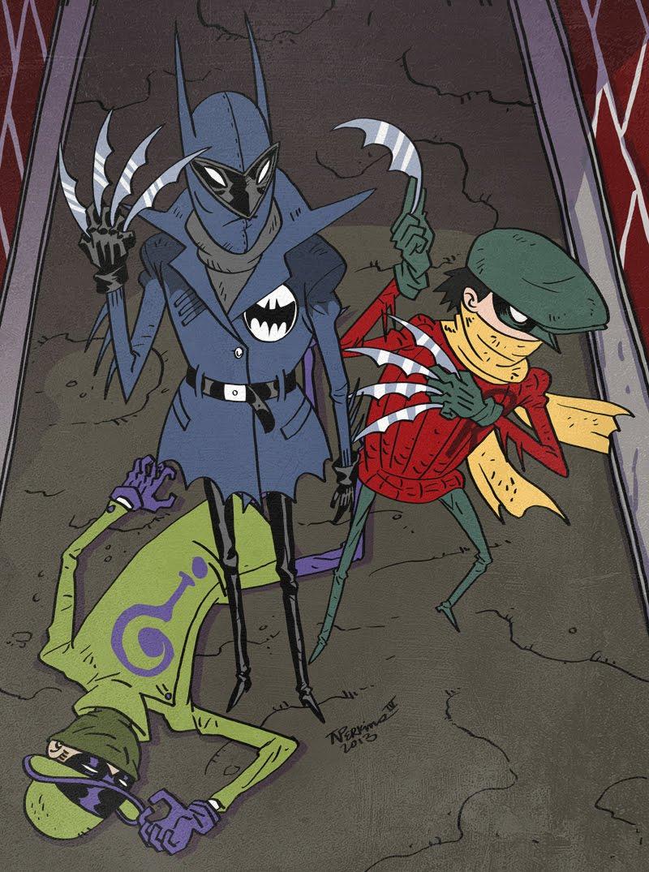 batman robin riddler