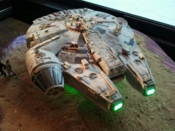 Star Wars Wedding Cake 28 New This is possibly the