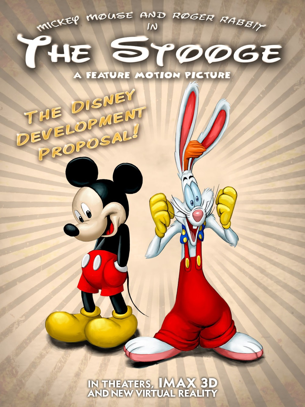 Mickey Mouse and Roger Rabbit to Star in THE STOOGE? — GeekTyrant