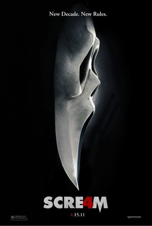 New Movie Poster For Scream 4 Geektyrant