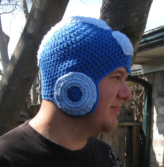 You Need A Megaman Crochet Hat To Stay Warm This Winter Geektyrant