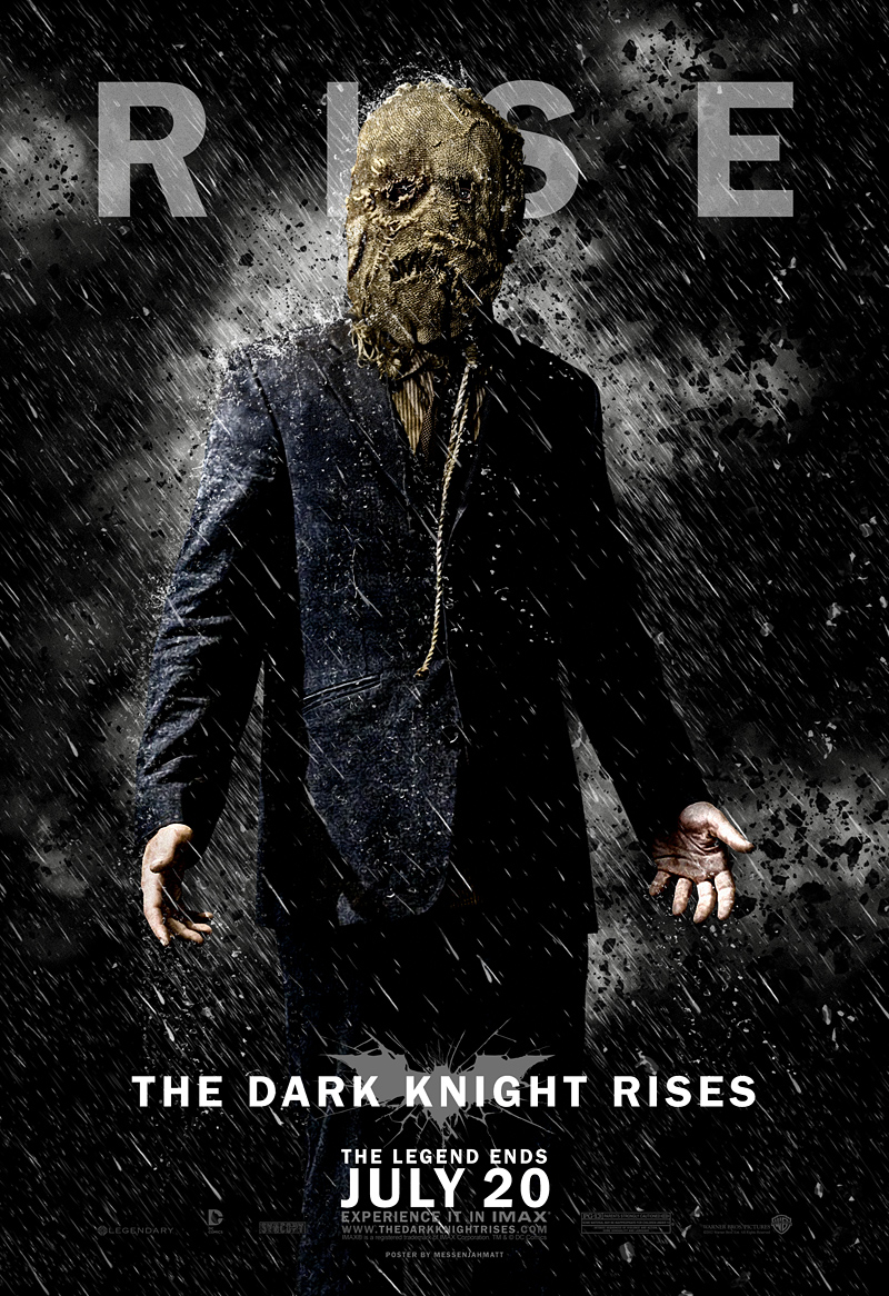THE DARK KNIGHT RISES - Fan Made Posters Rise Up — GeekTyrant