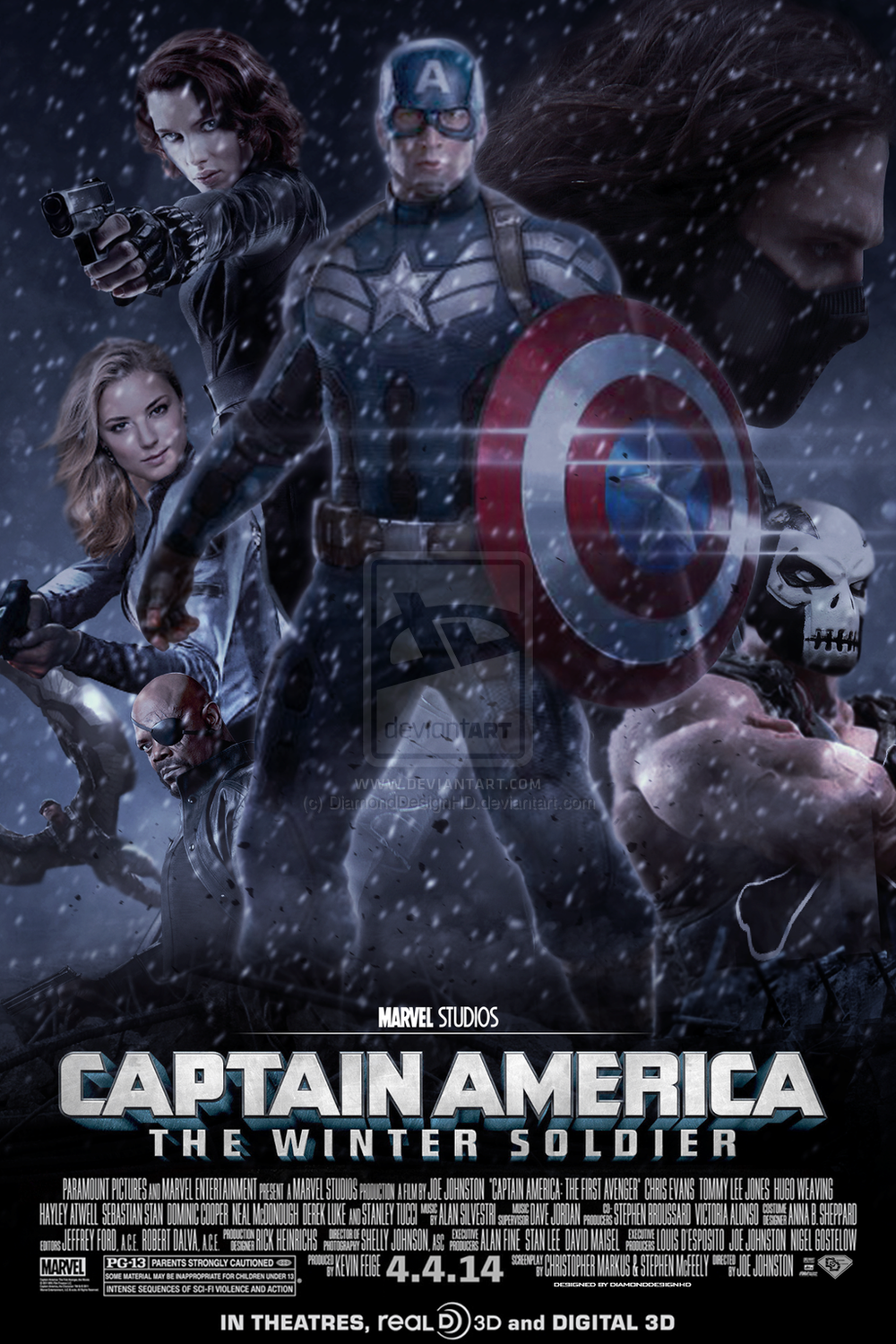 fan art for the avengers 2 captain america 2 and more