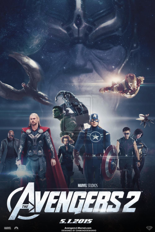 Avengers 2 movie poster