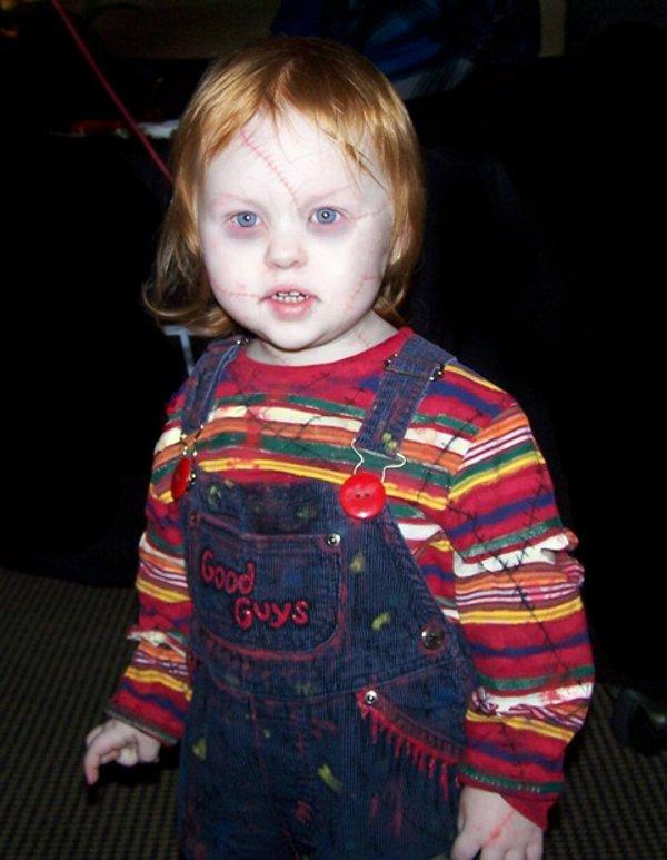 Creepy Chucky CHILD'S PLAY Kid Cosplay — GeekTyrant  Chucky Costume For Kids