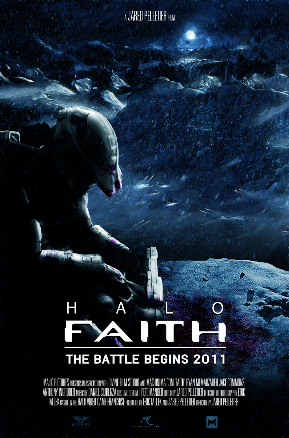HALO: FAITH Fan Film Poster and Teaser Image — GeekTyrant Green Lantern Movie Poster