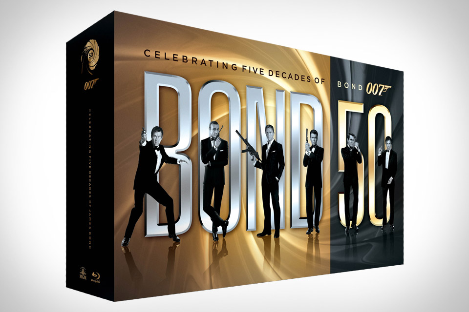 bond 50 all 22 james bond movies arrive on bluray for