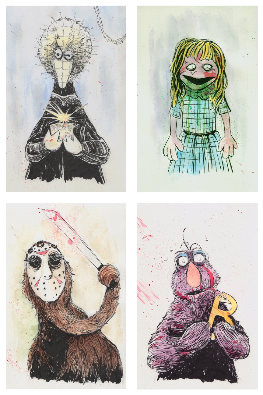 Muppet Horror Movie Massacre Art — GeekTyrant
