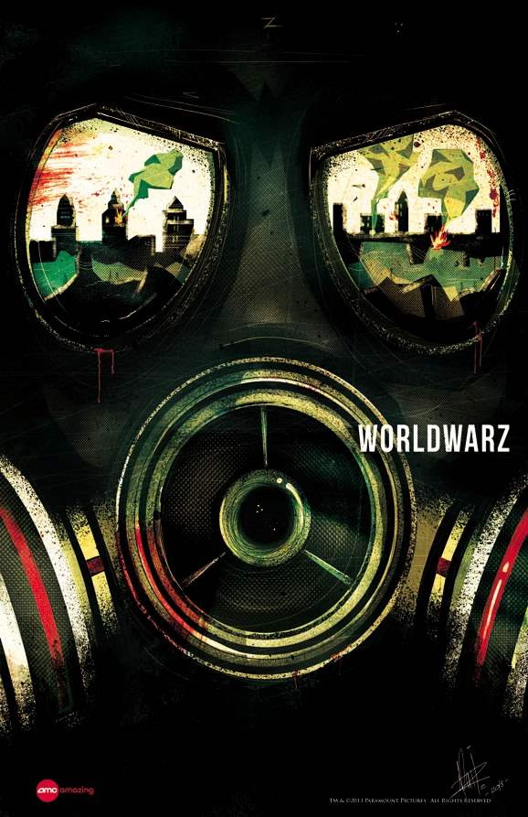 Movie poster videos world war z about a year ago by joey paur
