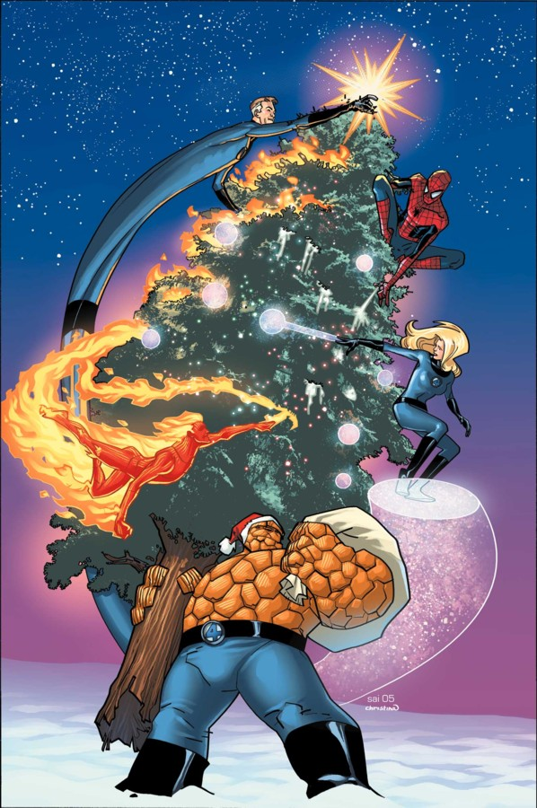 Marvel Christmas Tree.Have Yourself A Merry Marvel Christmas Geektyrant