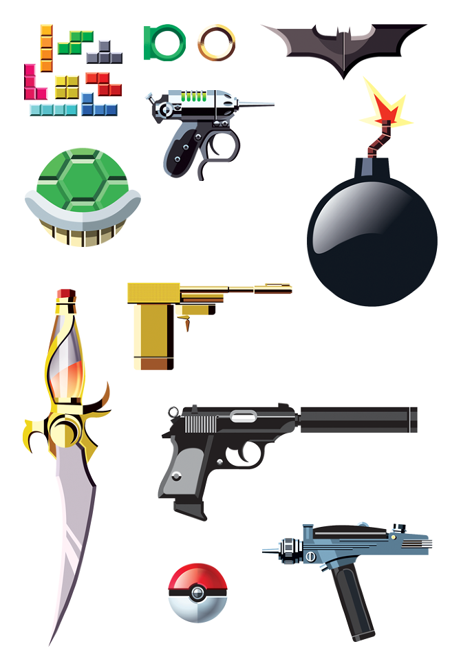 Famous Weapons From Movies, TV and Video Games — GeekTyrant