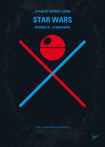 Star wars trilogy minimalist posters geektyrant for Minimal artwork