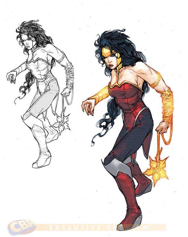 Character Design For Comics : Dc comics justice league superhero character