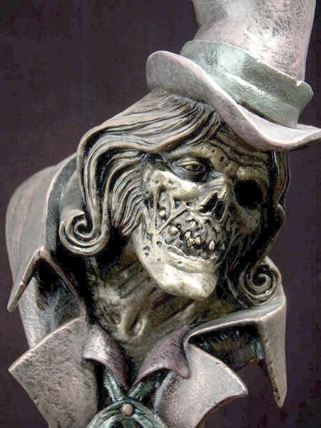 Guillermo del Toro's Hatbox Ghost Design for HAUNTED ...