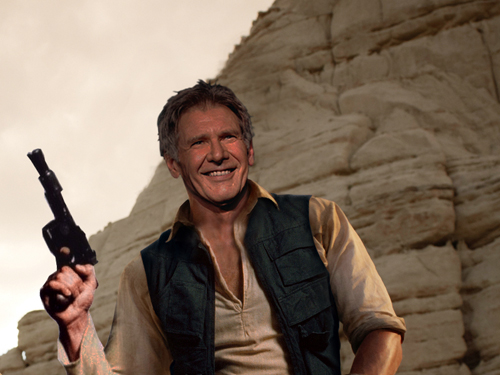 Harrison Ford Looking Forward to STAR WARS: EPISODE VII ...