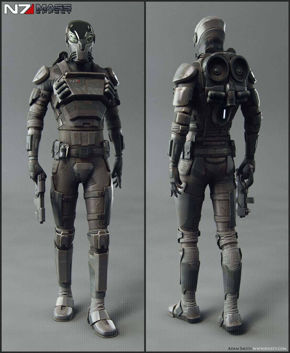 Mass Effect Live Wallpaper: Cool Collection Of MASS EFFECT Fan Art