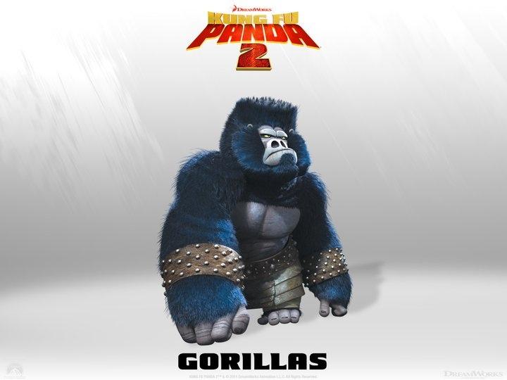 New KUNG FU PANDA 2 Characters Revealed — GeekTyrant