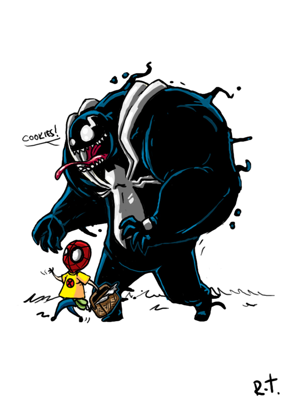 Awesomely Cute Collection of Superhero Art - GeekTyrant - 웹