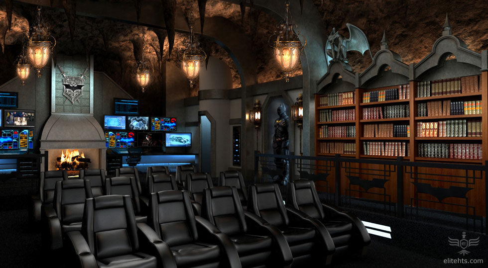 Awesome Dark Knight Home Theater System Geektyrant
