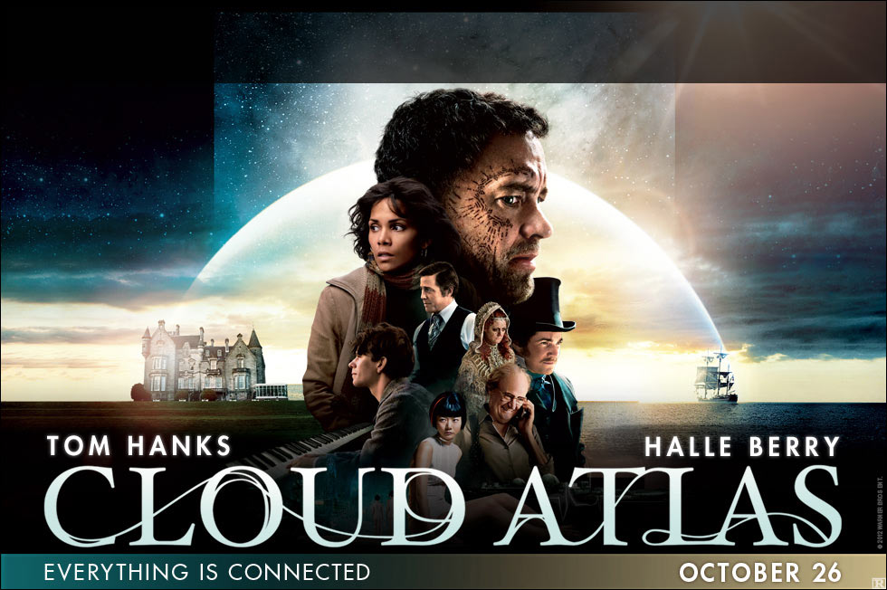 2012 Movie Poster: New Poster For The Sci-fi Epic CLOUD ATLAS