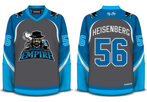 Geeky Hockey Jerseys Inspired by Movies 6063d1832