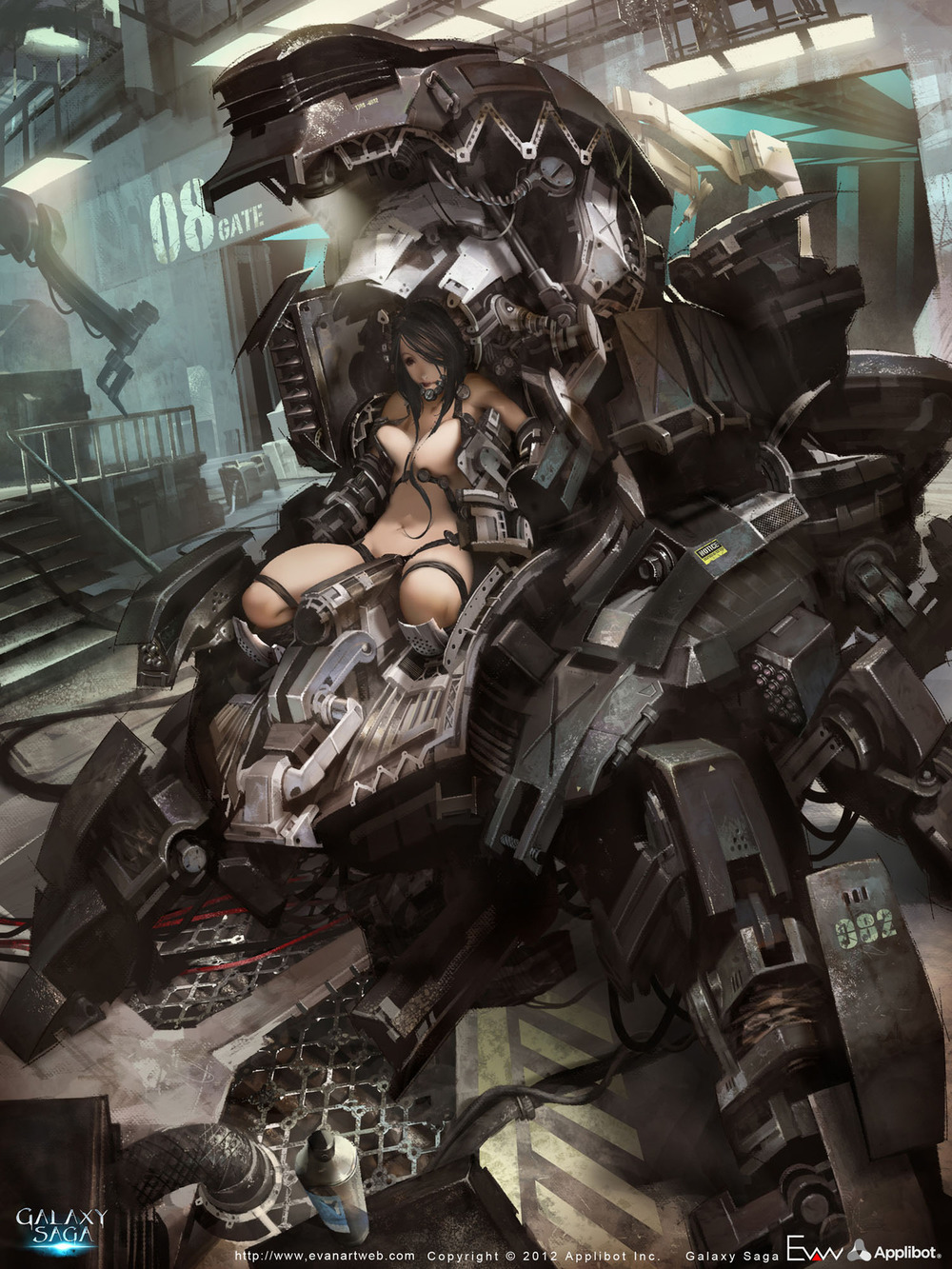 Awesome Mech Suit Pin-Up Art — GeekTyrant Pacific Rim Concept Art Pilot