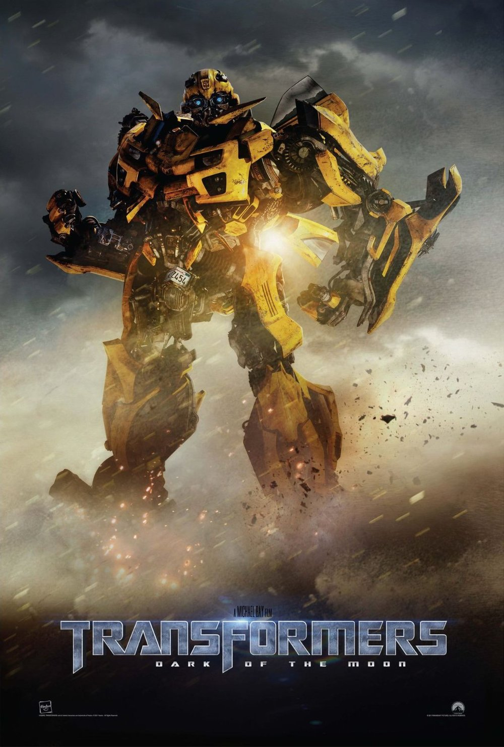 transformers dark of the moon poster featuring bumblebee geektyrant. Black Bedroom Furniture Sets. Home Design Ideas