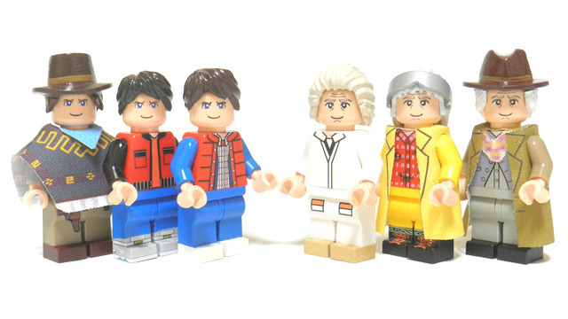 Back To The Future Trilogy Lego Play Set Could Become A