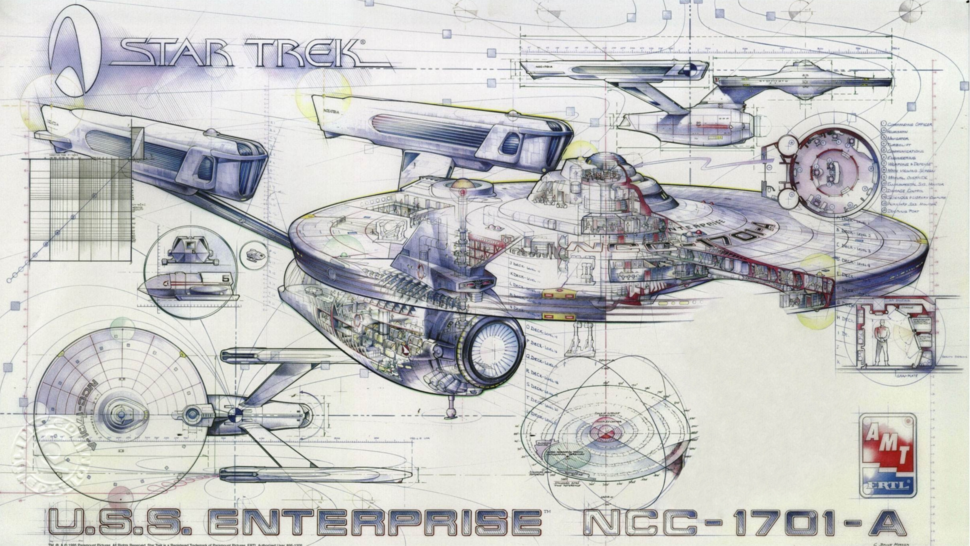 The astronomical cost of building the u s s enterprise for Blueprint cost