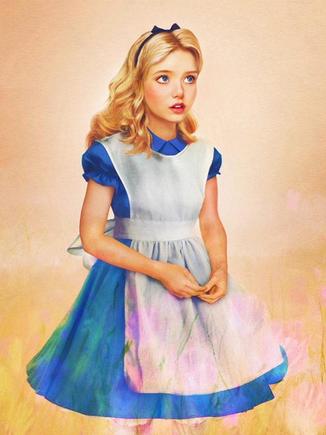 Slightly Creepy Realistic Disney Princess Art — GeekTyrant
