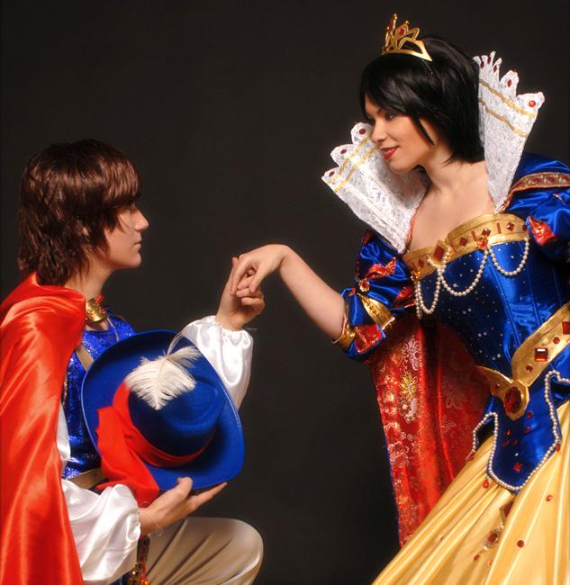 Snow White byIvycosplay| The Prince byIvycosplay