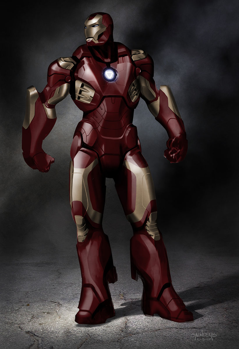 THE AVENGERS - Alternate Iron Man and Helicarrier Concept ...