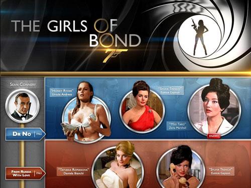 Teen nudes all james bond girls hot