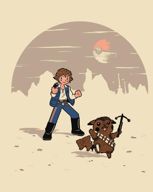 Geek Art: Star Wars gets a Pokémon Makeover — GeekTyrant